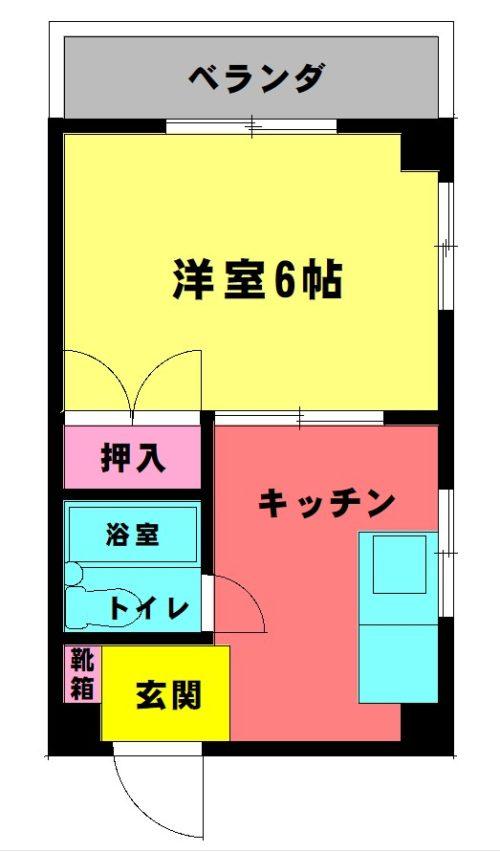 古田ビル 305 1K